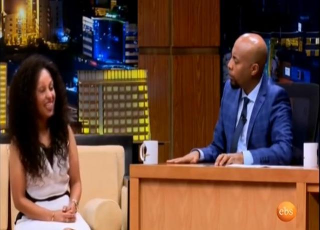 ETHIOPIA -  Young Business Women Saba Owner of Saba Perfume On Seifu Ebs