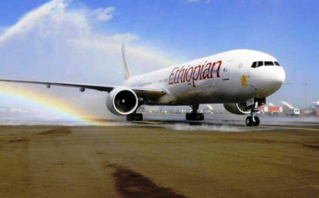 ETHIOPIA - Ethiopian Boeing aircraft makes emergency landing at Delhi's