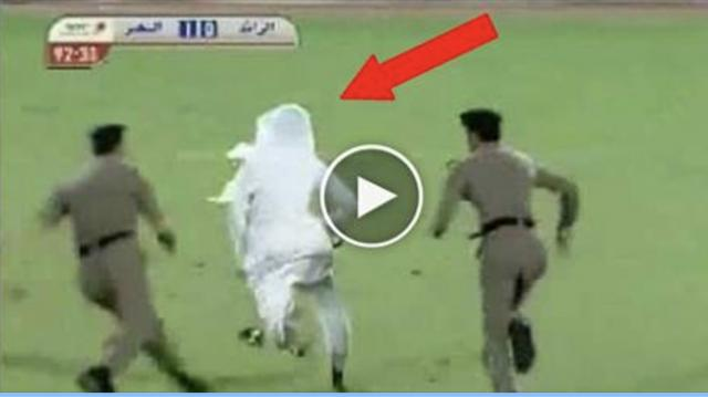 Watch this Funny & Mad Saudi Arabian Football Fan During a Match