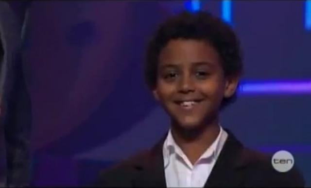 "Ethiopian kid Amanuael Amazing Voice and Talent Performing"" I Have Nothing"""