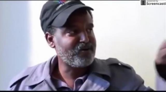 Funny scene form Ethiopian movie