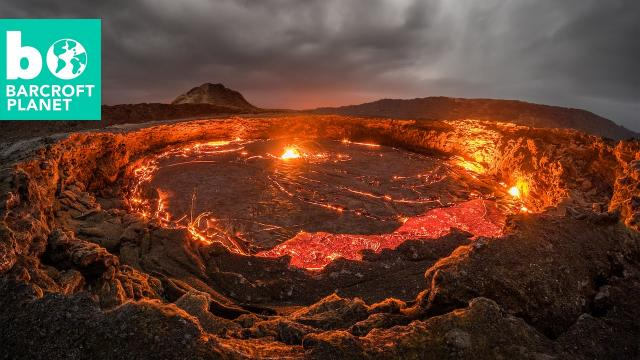 Playing With Fire: Photographer Gets Dangerously Close To Lava Lake