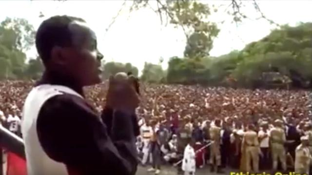 Must Watch! Ethiopia: Irreecha 2016 - See The beginning of the violence! This is how it all stated!