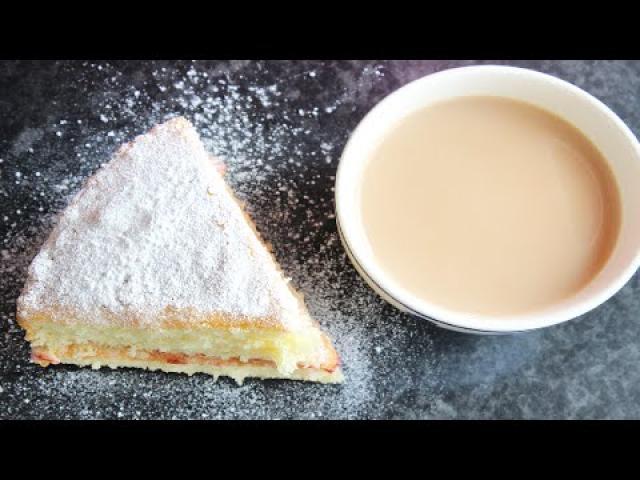 ቪክቶሪያ ሳንድዊች ኬክ አሰራር | How to make Victoria sandwich cake | Ethiopian Beauty