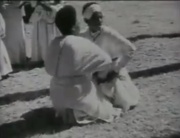 1934, Historical Ethiopian dance, 'Eskesta' video by Walter Mittelholzer