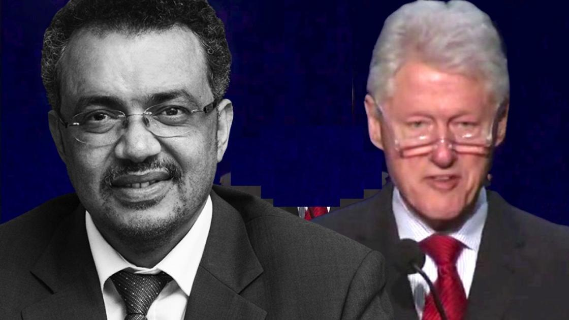 Former President Bill Clinton commends Dr. Tedros during 2014 Opportunity: Africa conference