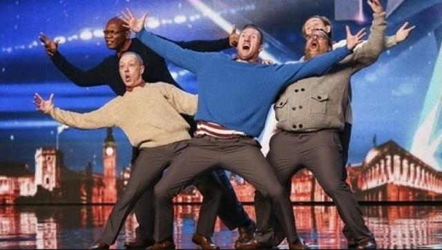 Britain's Got Talent - Old Men Grooving bust a move, and maybe their backs!