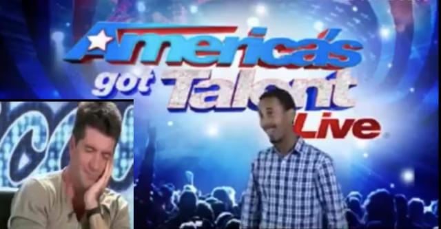 Ethiopian at America's Got Talent - Amazing confidence and Funny