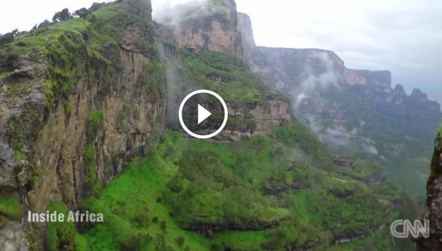 Breathtaking views of Ethiopia's Simien Mountains