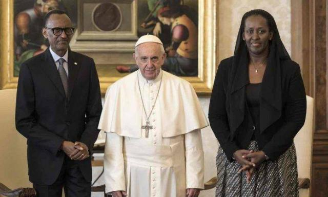 ETHIOPIA - Pope Francis asks for forgiveness for church's role in Rwanda genocide