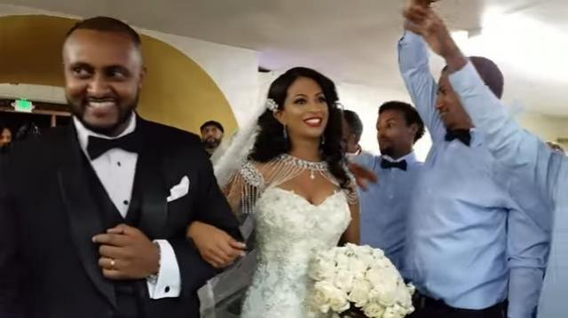 Yonas Beza Ethiopian Wedding Entrance