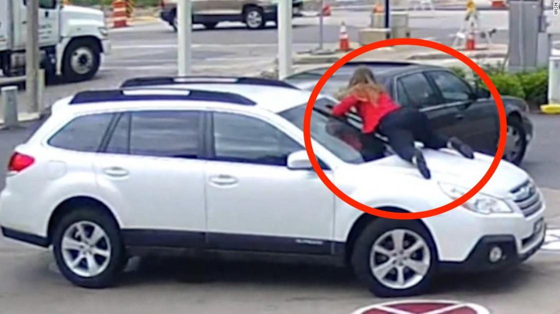 Milwaukee Car Thief gets more than he asks for