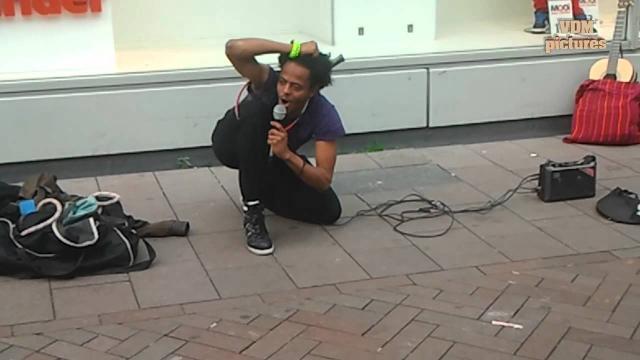 Ethiopian most flexible guy - Amsterdam