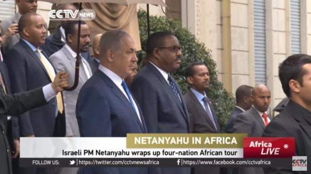 Netanyahu's trip marks Israel's first visit to Addis Ababa