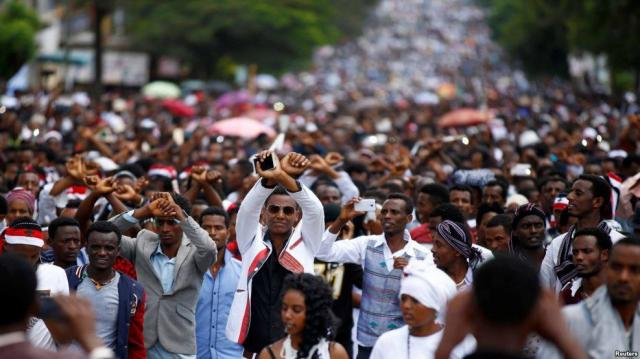 Ethiopia: Irrecha Celebration 2016 from the Beginning to the Protest - Full