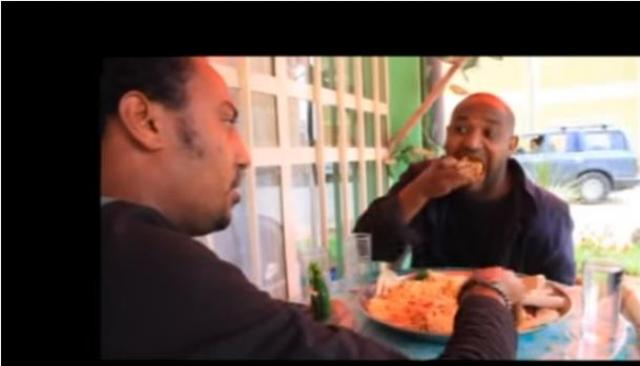 "Funny Ethiopian Movie Scene from ""Yebet Lij"""