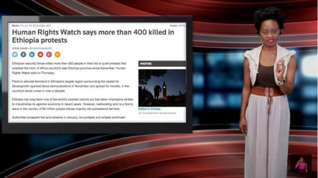 Why Ethiopia Attacked Eritrea; Ethiopia Kills 400 Protesters - Adeola
