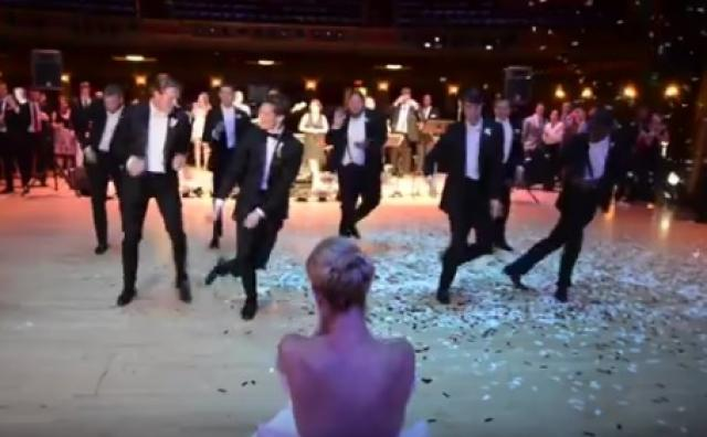 Wedding Dance - Surprise Groomsmen Dance