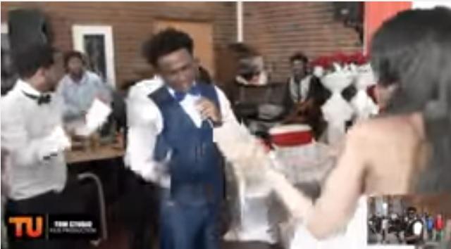 "Sirak Tedros and Rahel Fisum Wedding - Lij Michael ""Zemenay Mariye"""