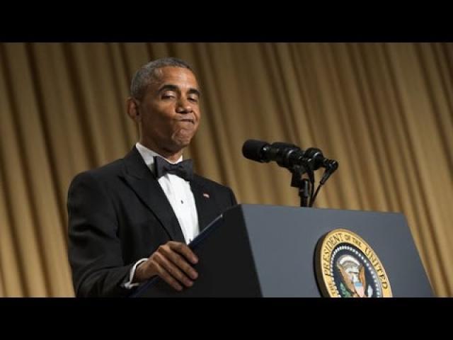Barack Obama Attacks Donald Trump At White House Correspondents' Dinner 2016