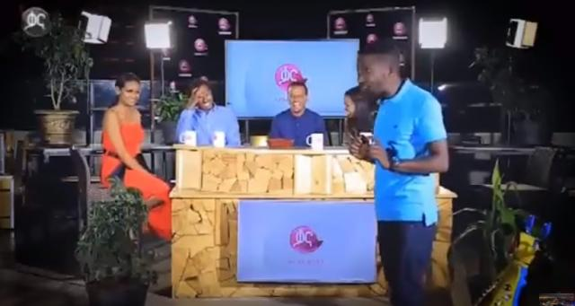 Comedian Thomas Funny Question and Answer with Kana TV Show host