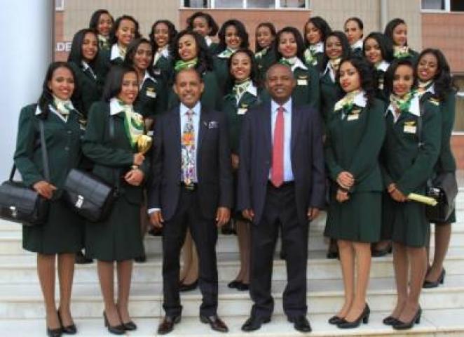 ETHIOPIA -Ethiopian aviation academy graduates 452 trainers