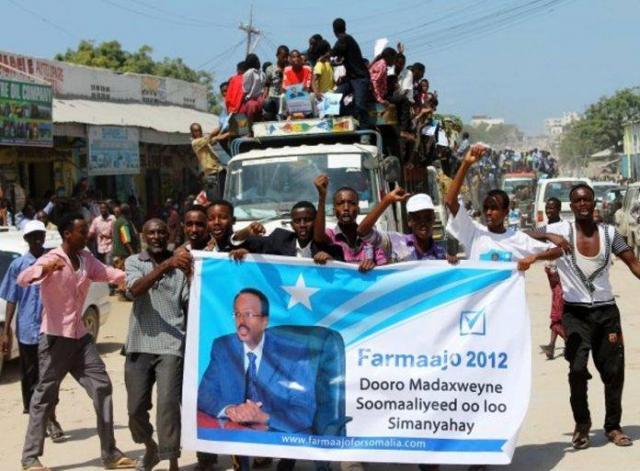 ETHIOPIA - Somalia President Mohamed Abdullahi Mohamed gets support