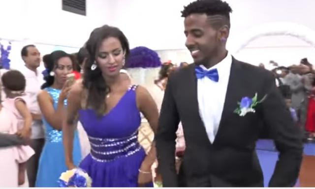 Ethiopian wedding 2016 Bride and groom best entrance New Zealand