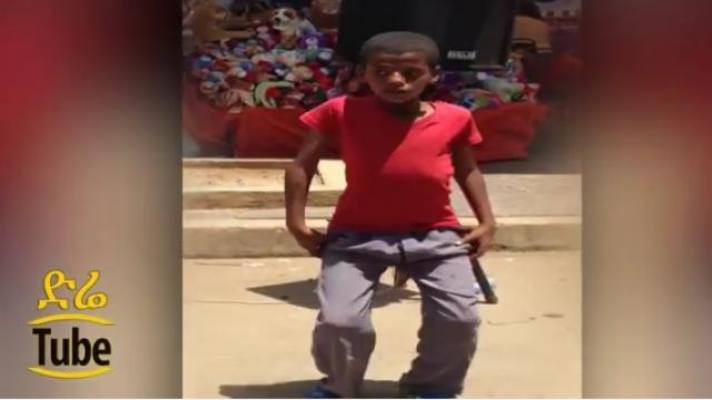 Boy shows his dancing talent to support his family