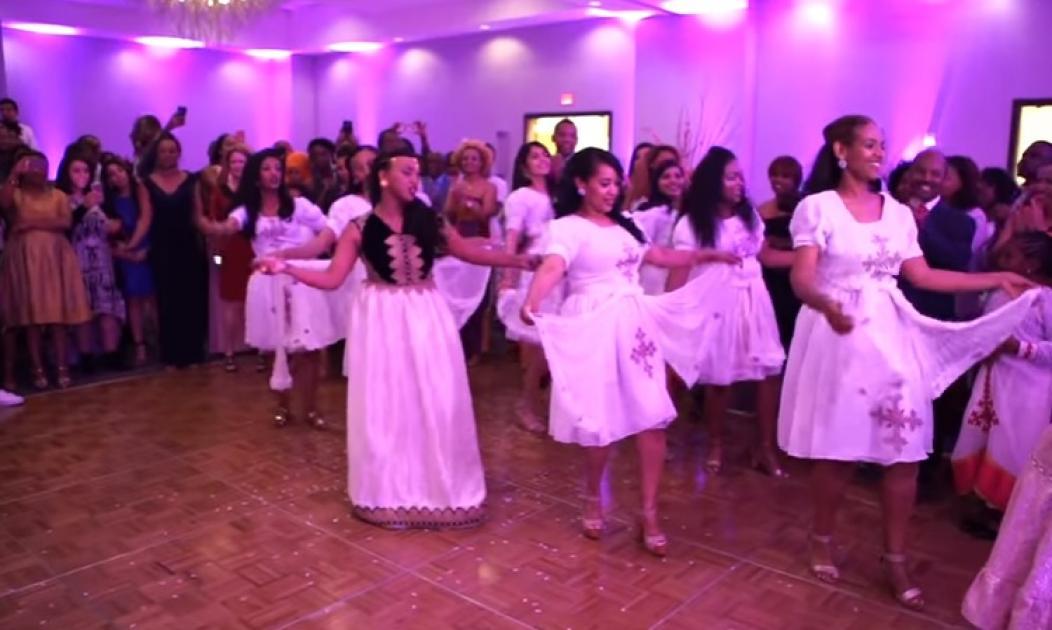 Ethio Vs. Naija Wedding Dance Battle