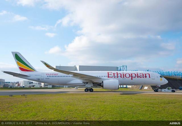 ETHIOPIA - A third airline Air Bass 350 Dreamliner announced today