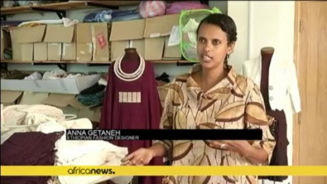 Former Ethiopian supermodel uses clothing label to promote fashion and charity