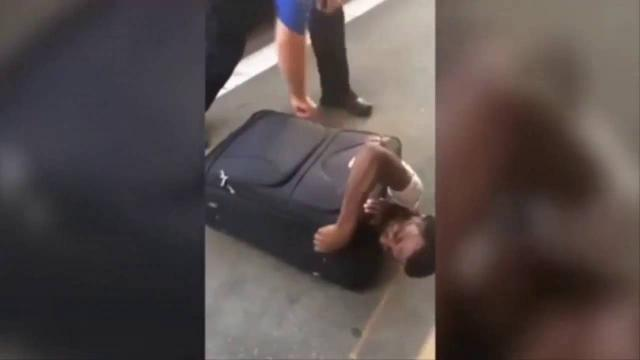 Eritrean immigrant found in suitcase by Swiss authorities
