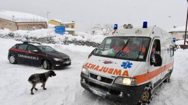 ETHIOPIA - Italy avalanche: 'Many dead' in hotel Rigopiano in Abruzzo