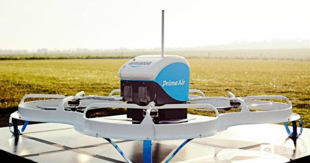 Watch Amazon's Prime Air make its first public U.S. drone delivery