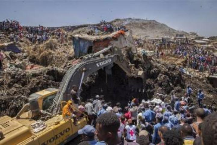 ETHIOPIA - the number of deaths koshe accident has reached 113