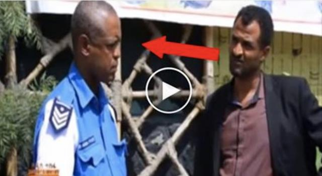 Comedian Dereje Haile as a Traffic Police - Very Funny Prank