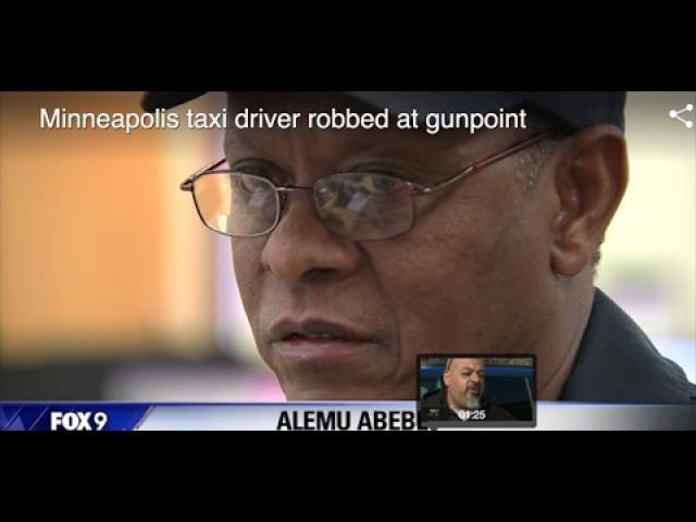 CAUGHT ON CAMERA: Ethiopian taxi driver was robbed at gunpoint | Minnesota