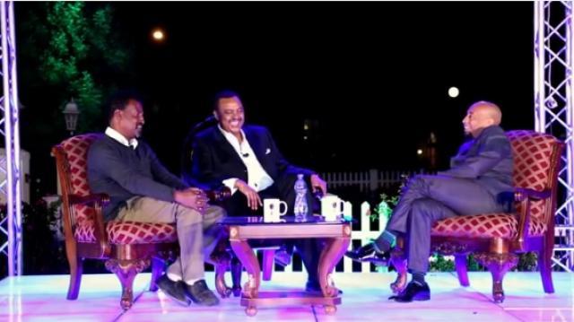Mekonnen Leake surprises Epherem Tameru at Seifu Show Part 4