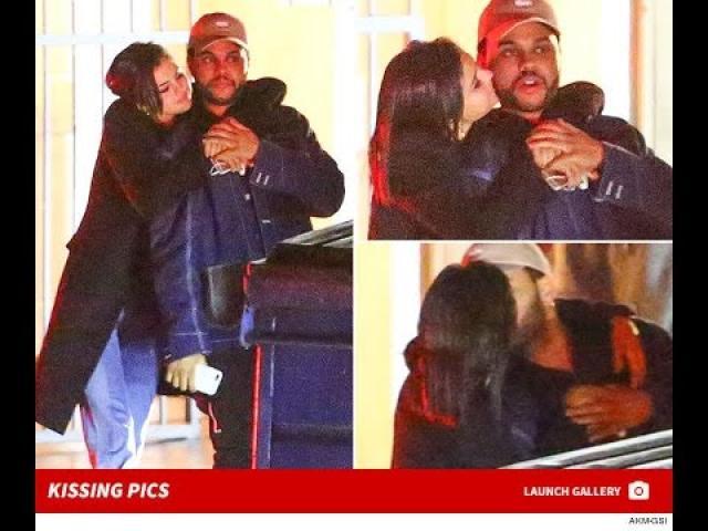 Ethiopian, Abel Tesfaye AKA The Weekend and Selena Gomez  MAKING OUT!