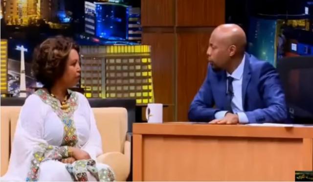 Genet Ayele with Seifu on EBS