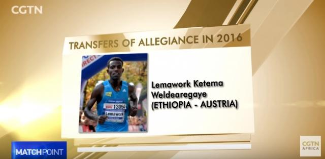 Country's worst affected by athletics nationality switch