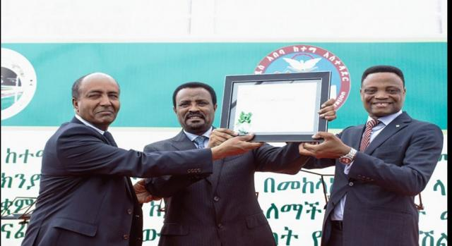 Addis Ababa is one of 10 recipients to receive the prestigious C40 Cities Awards 2016