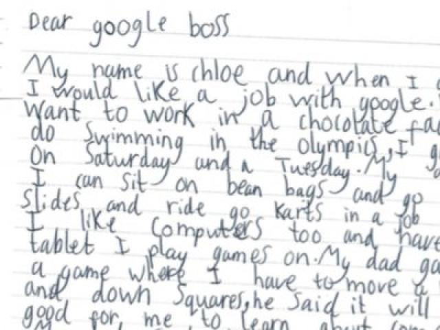 ETHIOPIA - 7 Year Old Girl Asks Google for a Job