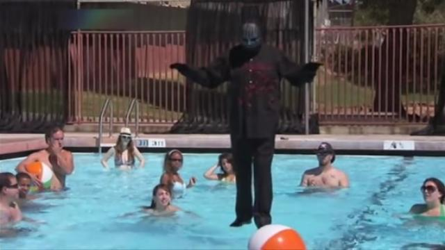 Secret of magic trick of walking on water