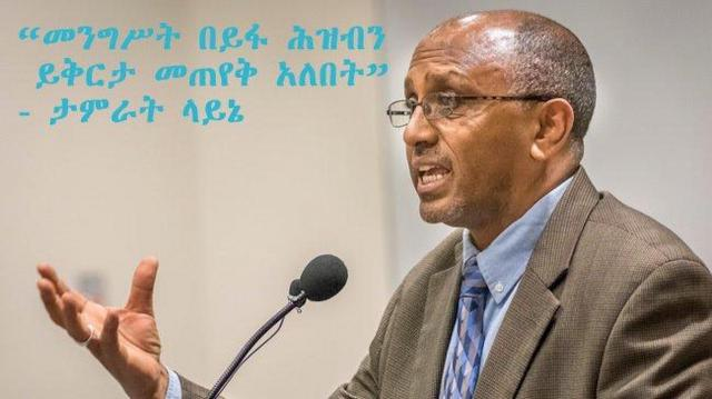 The Movement: an opportunity or a threat? Interview with Former Ethiopian Prime Minister – Part 2