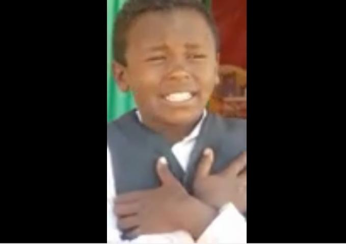 Watch this Funny Ethiopian kid singing love song [FUNNY]