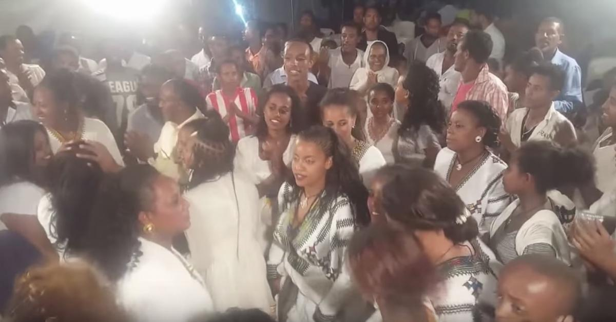 Teddy afro's song in GONDAR sofi's wedding