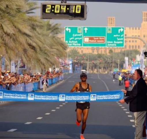 ETHIOPIA - Dubai Marathon Tamirat Tola breaks course record