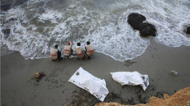 ETHIOPIA - More than 70 refugees wash up dead on Libyan beach